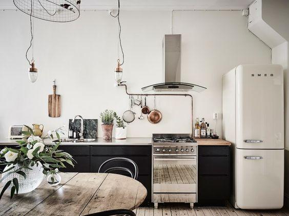 Cuisine vintage minimaliste