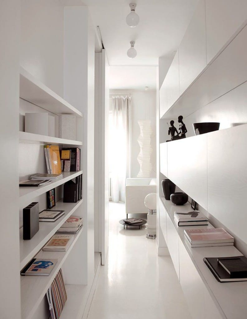 Optimiser un couloir avec des rangements