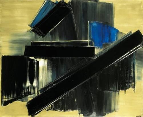 Peinture Pierre Soulages