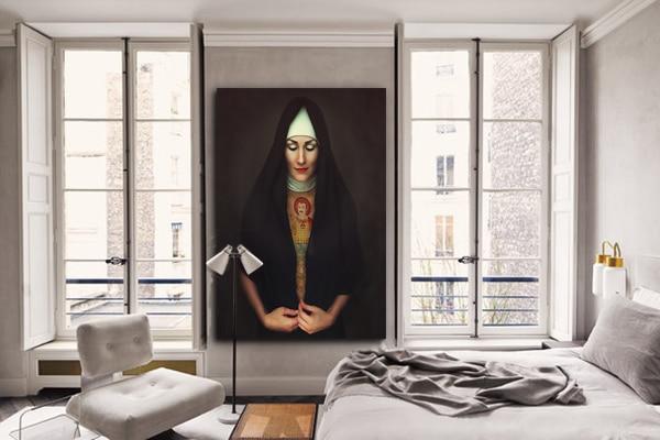 tableau contemporain chambre