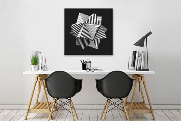 Zoom sur l art abstrait for Oeuvre minimaliste