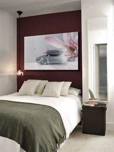 Tableau couleur prune affordable with tableau couleur for Tableau tete de lit