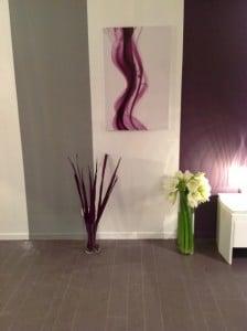 Tableau design Izoa violet M6 deco