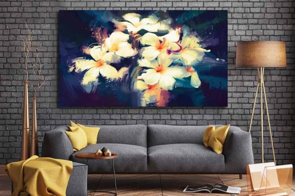 Tableau moderne floral
