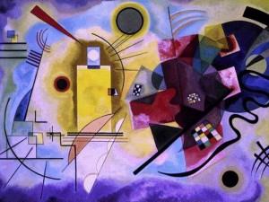 Oeuvre Abstraite Kandinsky