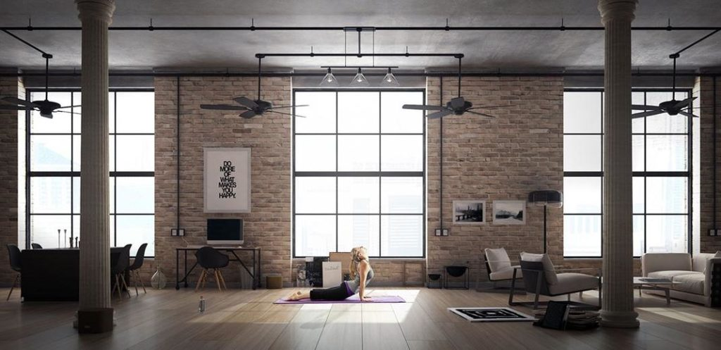 tableaux modernes et lofts de r ve. Black Bedroom Furniture Sets. Home Design Ideas