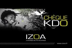 Chèque cadeau Izoa