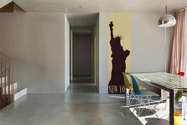 poster mural Statue de la liberté