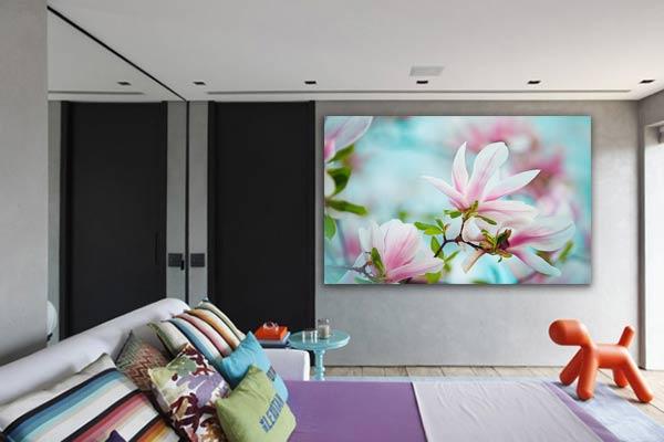 Tableau fleur magnolia pour chambre