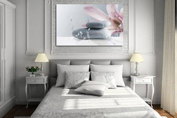 D co de chambre coucher choisissez votre style - Deco chambre zen gris ...