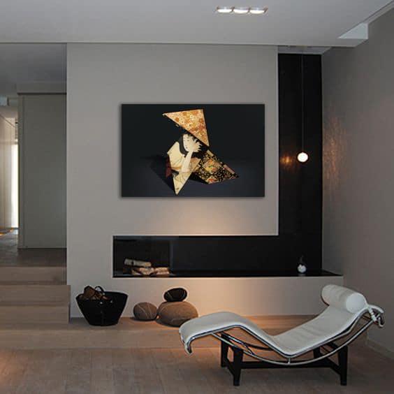 tableau zen design pliage japonais