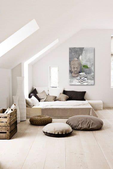 un tableau zen pour no l. Black Bedroom Furniture Sets. Home Design Ideas