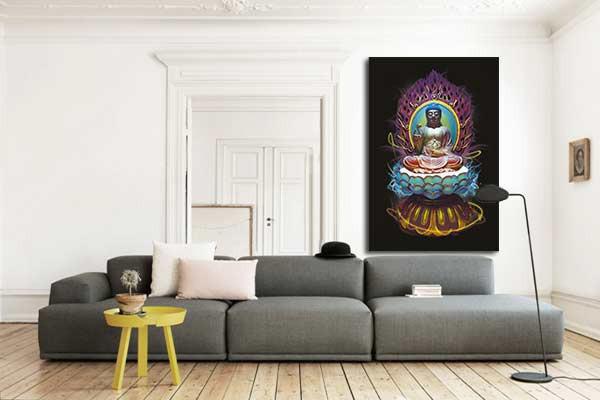 Tableau zen bouddha design