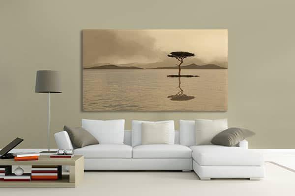 toile zen paysage
