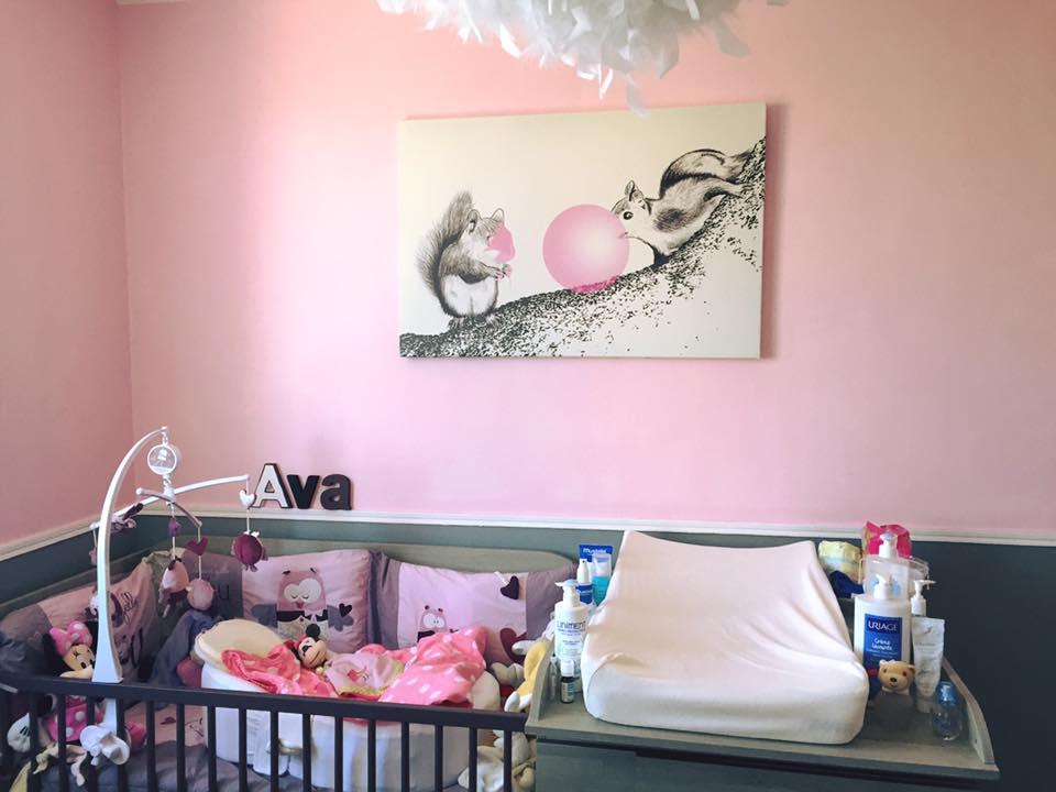 D coration murale animale - Deco murale chambre ...