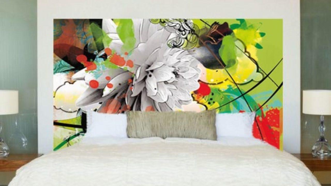 Tapisserie Moderne Pour Chambre Adulte un papier peint en guise de tête de lit - blog izoa