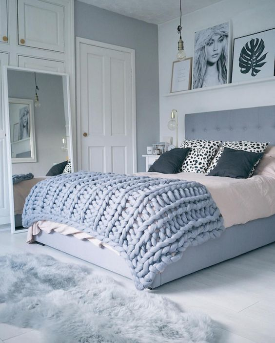 5 id es pour une d co chambre cosy blog izoa. Black Bedroom Furniture Sets. Home Design Ideas
