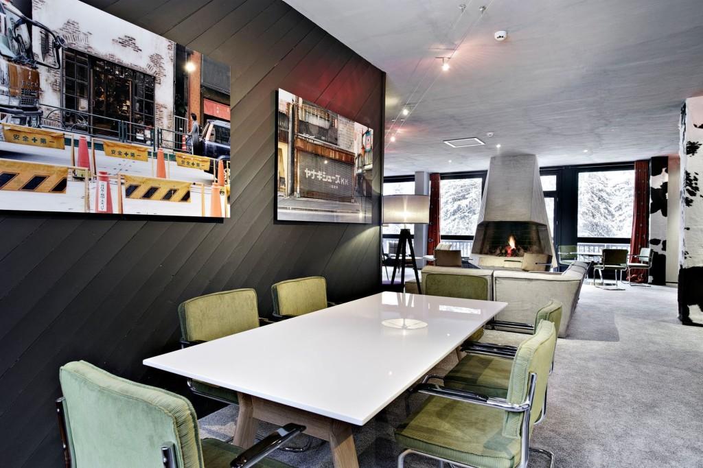 photographies urbaines pour déco moderne salle à manger
