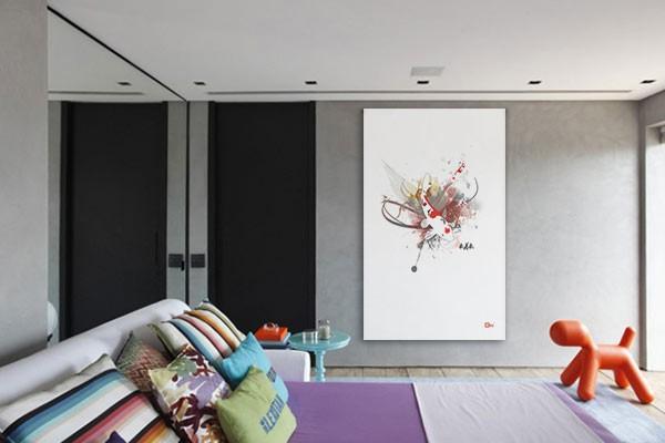 D coration murale animale for Decoration murale japonaise
