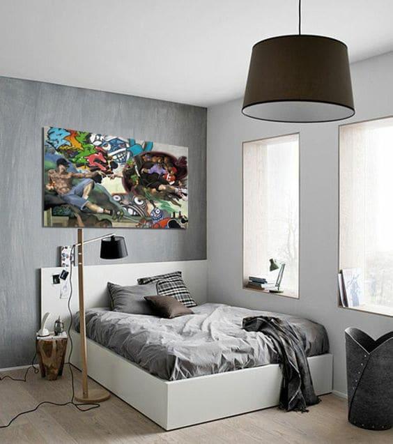 tableau moderne deco chambre ado