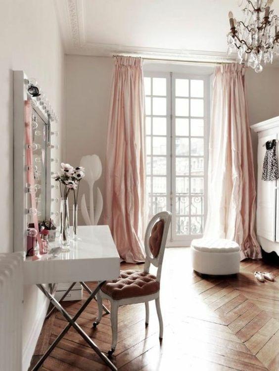 Chambre déco romantique