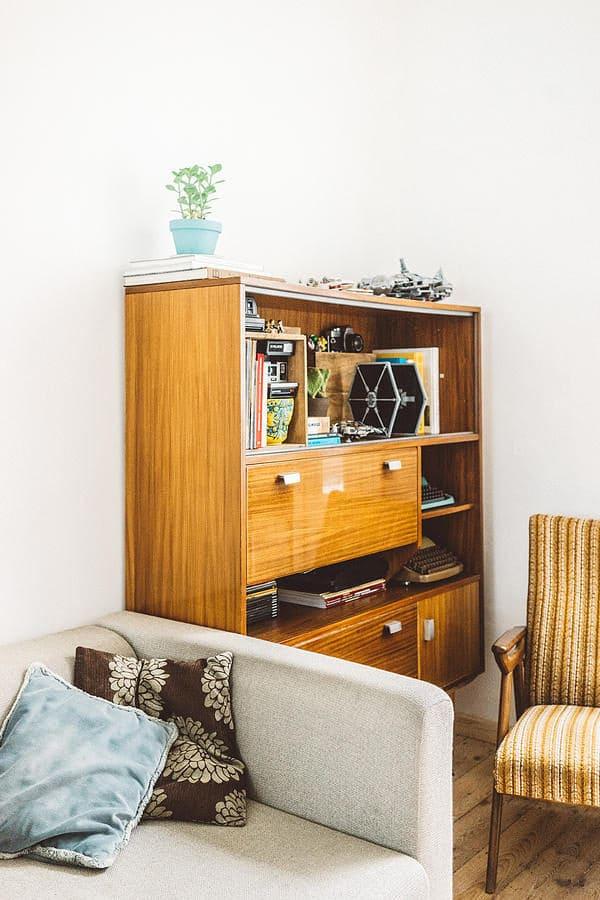 Mobilier chiné pour style vintage