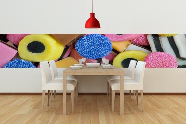 Frise murale pour salle à manger