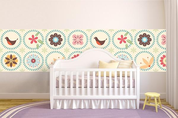 Frise murale pour chambre enfant
