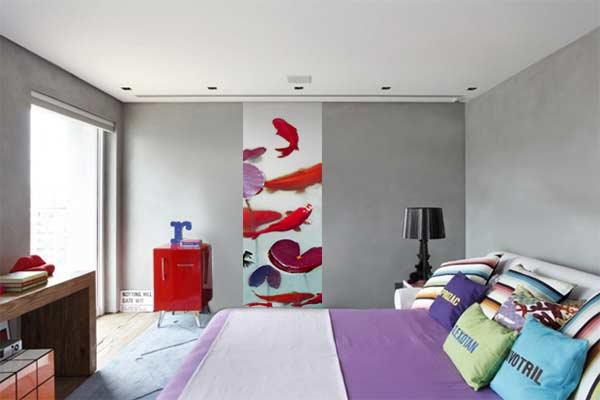 frise murale zen carpes japonaises