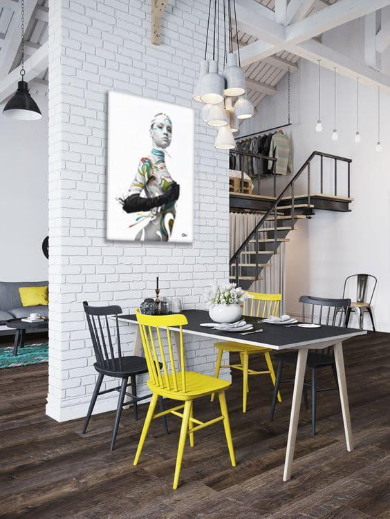 salle à manger design et moderne