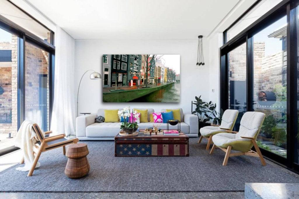 tableau contemporain amsterdam