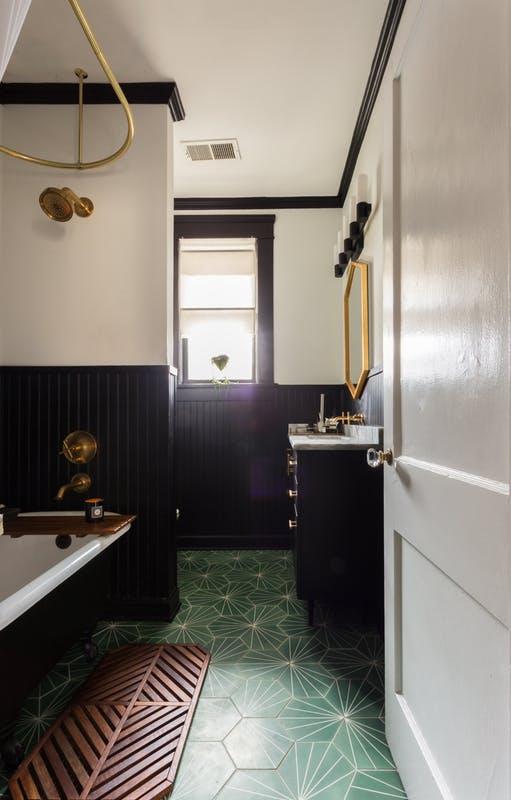 Carrelage salle de bain original et design