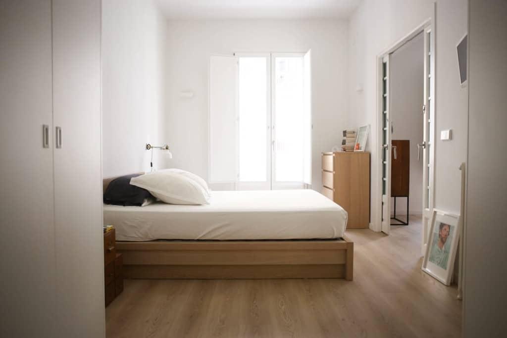 déco chambre minimaliste