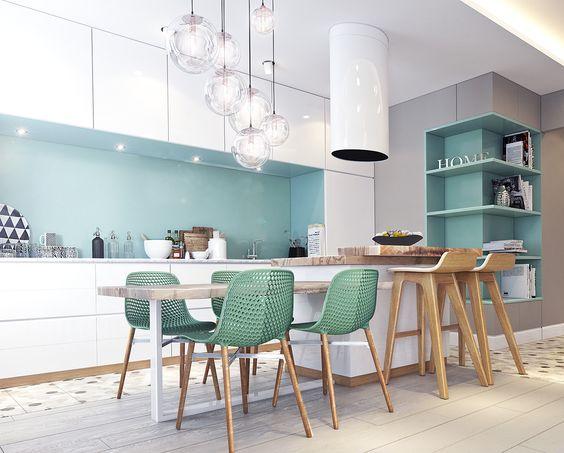Cuisine salle à manger design