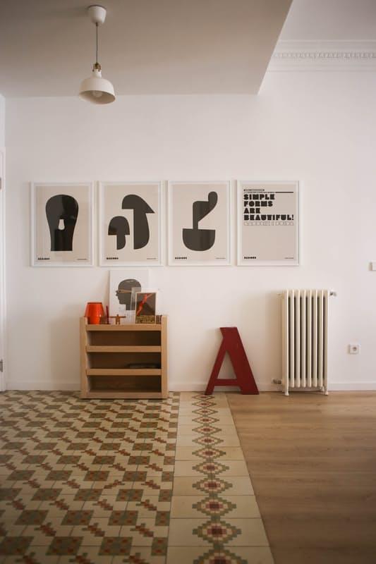 Cadre déco minimaliste