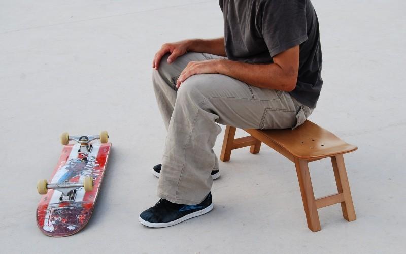 tabouret skate original