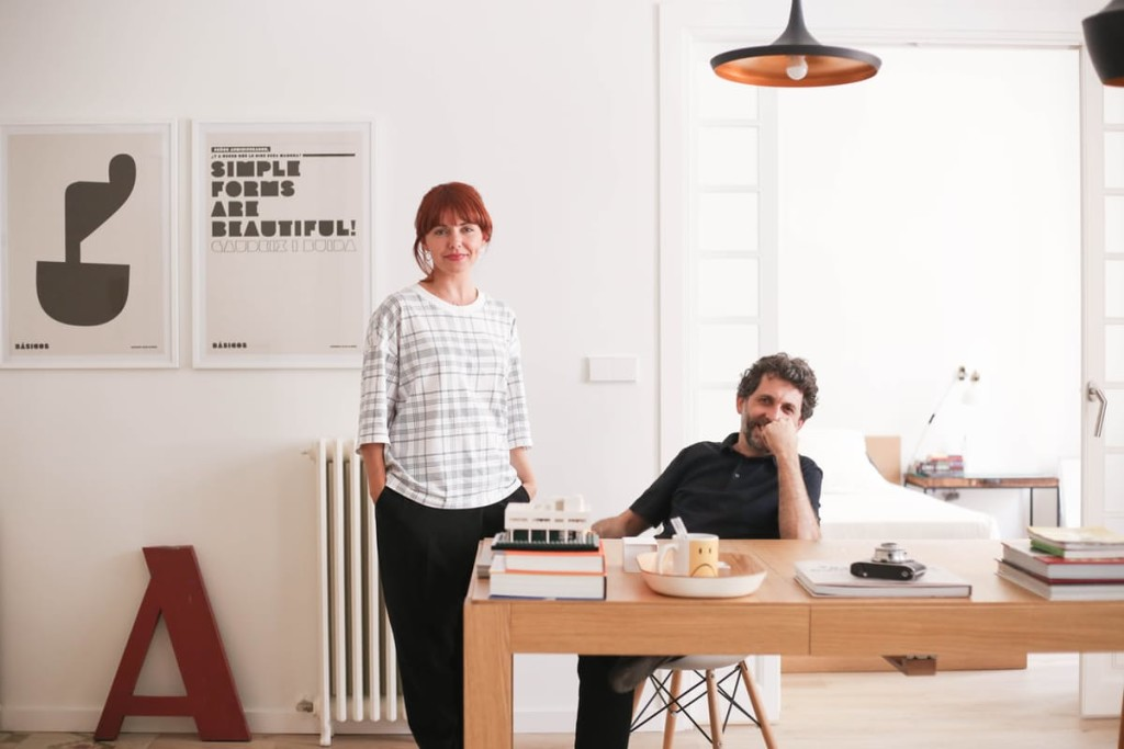 Visite chez une architecte et un designer