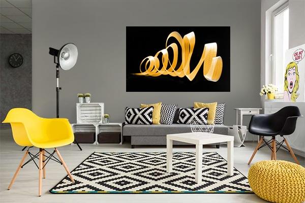 D coration murale les couleurs selon les signes du zodiaque for Decoration murale jaune