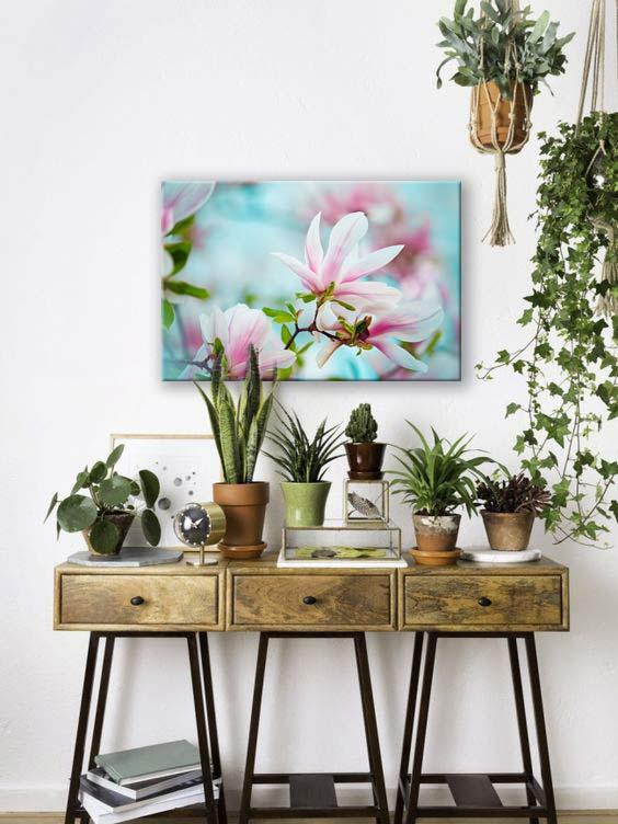tableau-deco-fleur-magnolia