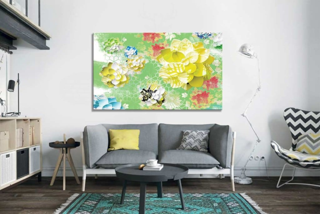 cadre-decoratif-zen-deco-salon-moderne