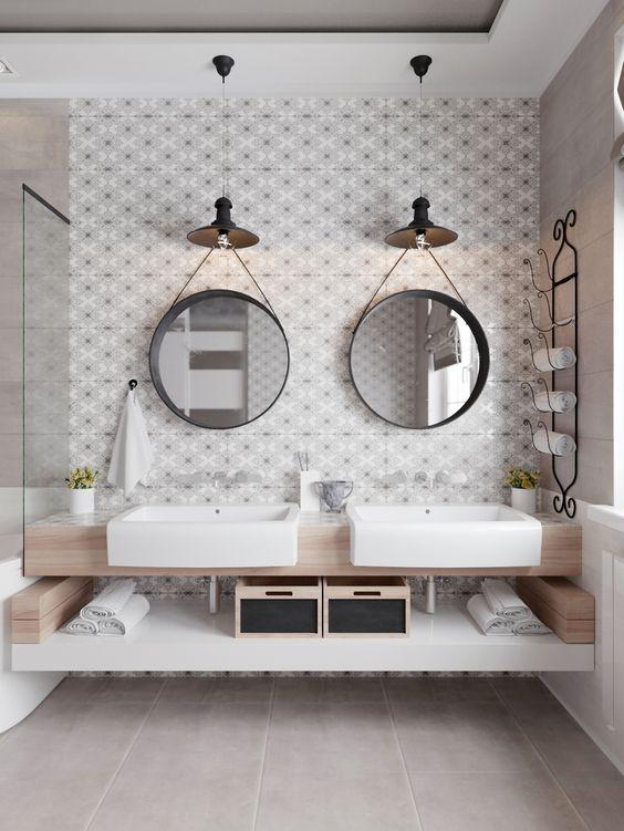 miroirs ronds salle de bain