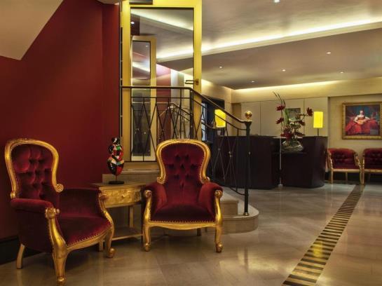 décoration hotel waldorf tableau déco Izoa