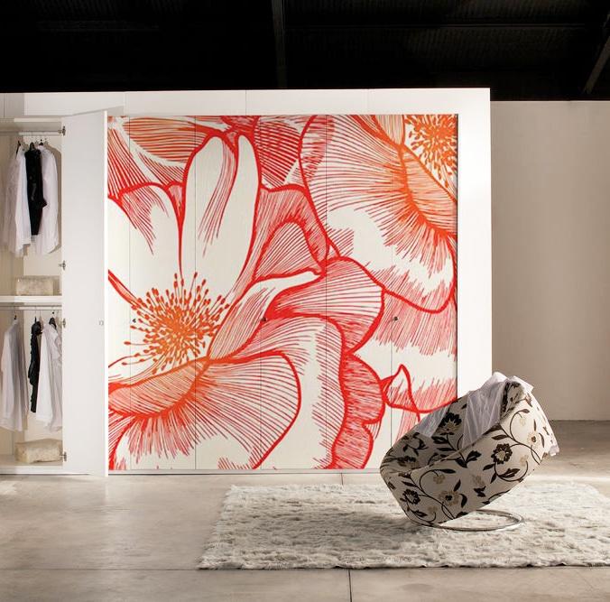 Customiser un meuble avec un papier peint blog izoa for Papier peint pour porte de placard