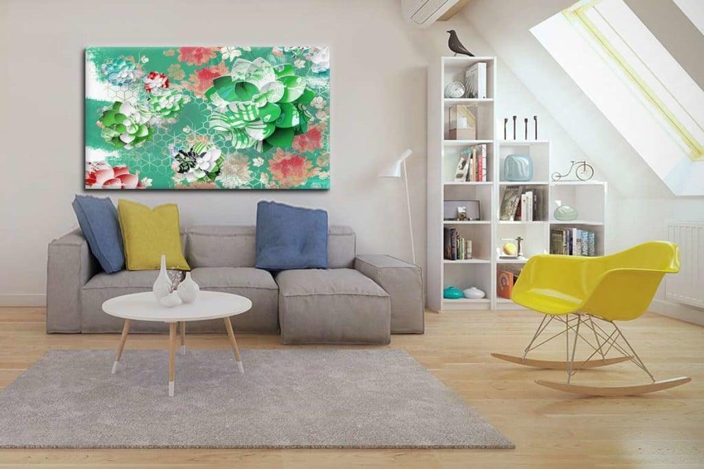 tableau-zen-deco-salon-lotus