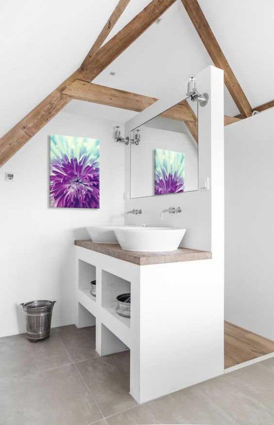 toile-deco-fleur-salle-de-bain