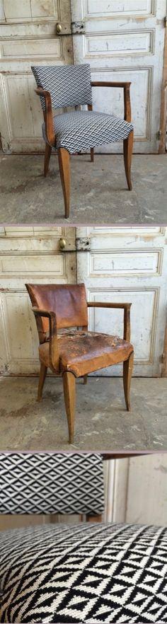 chaise rénovée design