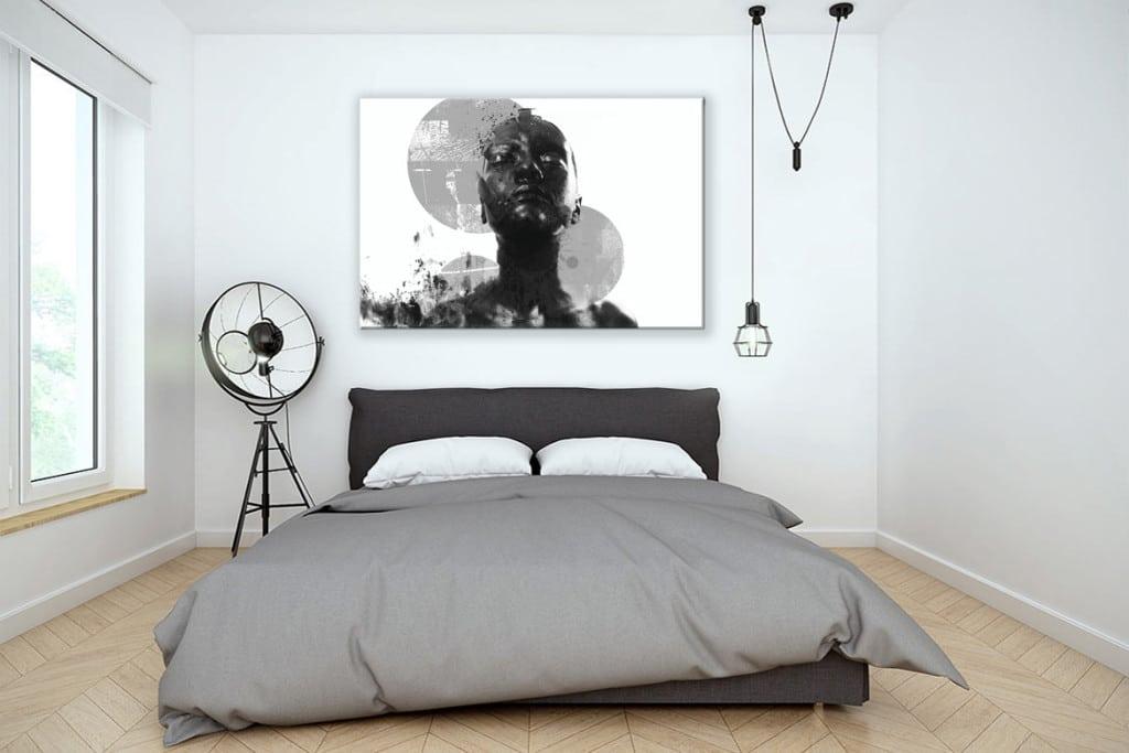 Tableau Design Contemporain Black And White Blog Izoa