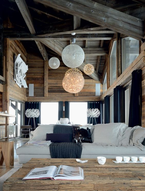 décoration chalet