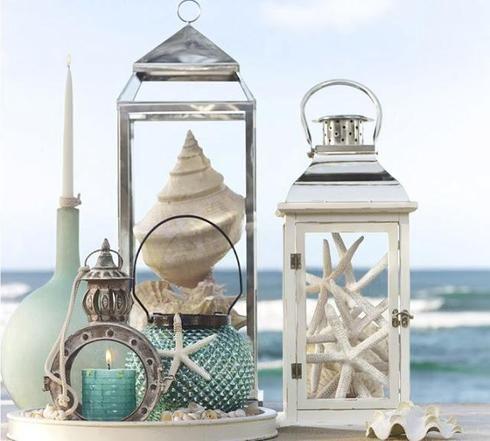 Accessoires déco sur le thème marin
