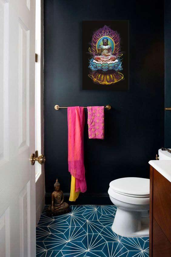 deco-toilettes-zen-tableau bouddha